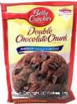 Betty Crocker  double chocolate chunk cookie mix, just add oil & egg, makes 3 dozen 2-inch cookies Center Front Picture