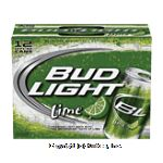 Bud Light Lime premium light beer with the refreshing taste of lime, 12 12-fl. oz. cans Center Front Picture
