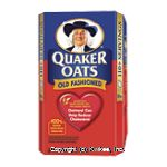 Quaker  oats, old fashioned, 2 bags, 110 servings Center Front Picture