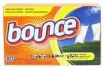 Bounce  fabric softener dryer sheets, outdoor fresh scent Center Front Picture
