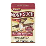 None Such Mincemeat Classic Original Condensed Center Front Picture